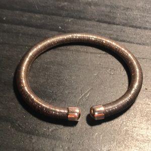 HSN sparkling 925 cuff bracelet